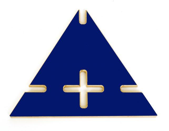 D blau