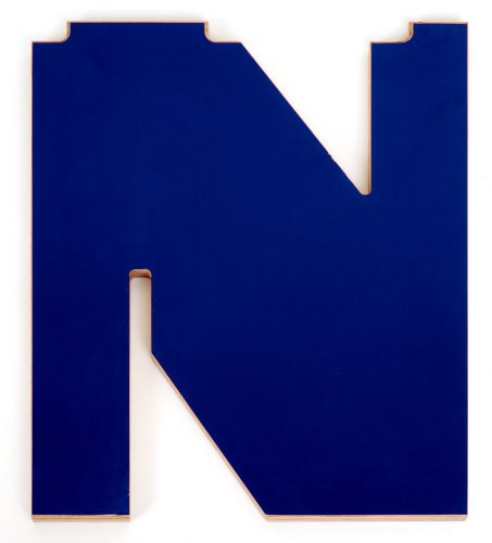 N blau